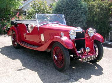 Lot 58-1933 Riley 9 Lynx Tourer