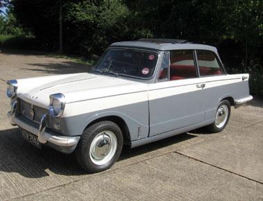 Lot 74-1963 Triumph Herald 12/50