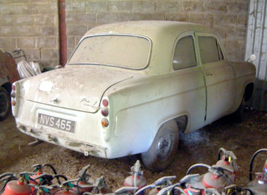 Lot 34-1961 Ford Popular