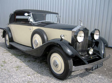 Lot 80-1933 Rolls-Royce 20/25hp Three-Position Drophead Coupe