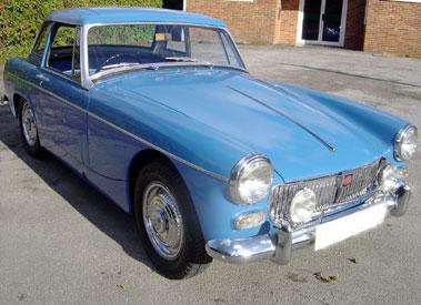 Lot 82-1967 MG Midget 1100