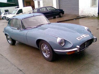 Lot 83-1971 Jaguar E-Type V12 Coupe