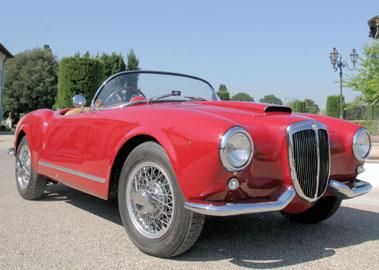 Lot 55-1955 Lancia Aurelia B24 Spider America