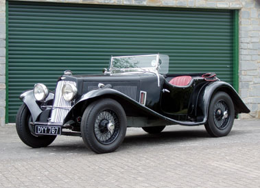 Lot 51-1937 Aston Martin 2 Litre 15/98 Short Chassis 2/4 Seater