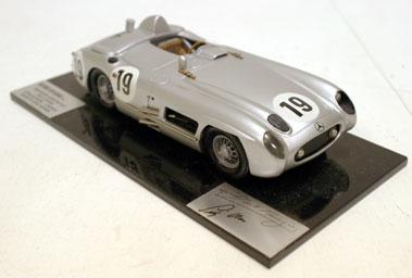Lot 214-1:24 Mercedes 300SLR Model by Historic Replicars