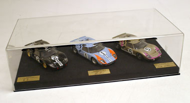 Lot 206-Ford GT40 History at Le Mans Model Display