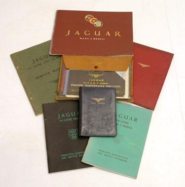 Lot 104-Interesting Jaguar Paperwork