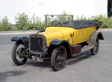 Lot 13-1913 Argyll 25/50 Open Tourer