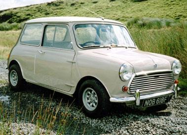 Lot 1-1968 Austin Mini Cooper MKII