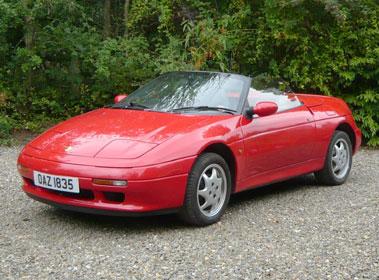 Lot 5-1992 Lotus Elan SE Turbo