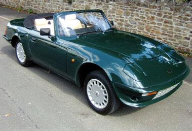 Lot 12-1993 Evante Gran Turismo Convertible