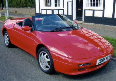 Lot 34-1991 Lotus Elan SE Turbo