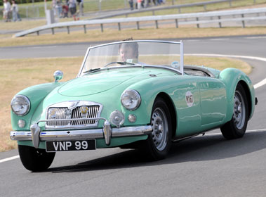 Lot 40-1958 MG A 1600 Twincam Roadster