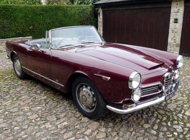 Lot 36-1964 Alfa Romeo 2600 Spider
