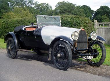 Lot 48-1924 Bugatti Type 30 Dual Cowl Tourer