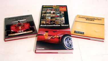 Lot 110-Four Automobile Year Annuals