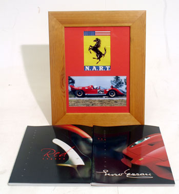 Lot 115-Ferrari Ephemera