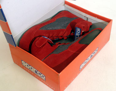 Lot 202-Sparco Fire-proof Race Boots