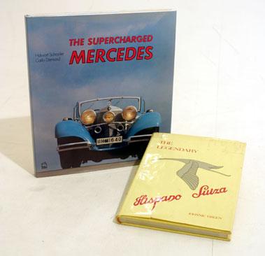 Lot 113-Mercedes-Benz & Hispano Suiza Literature