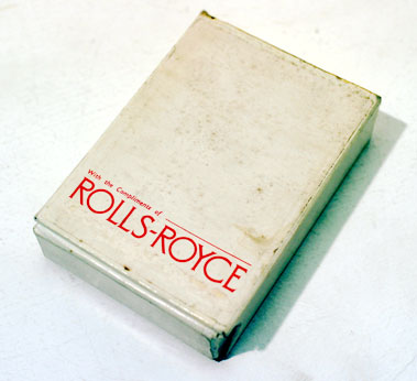 Lot 220-Pre-War Rolls-Royce Playing Cards