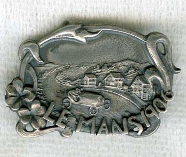 Lot 223-1906 French GP Souvenir Pin Badge