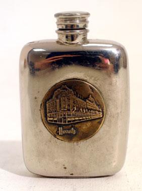 Lot 212-Harrods Branded Spirit Flask