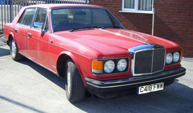 Lot 8-1985 Bentley Eight