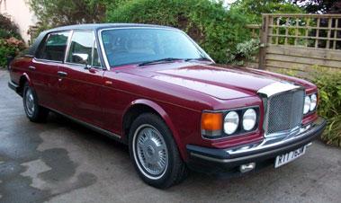 Lot 10-1981 Bentley Mulsanne