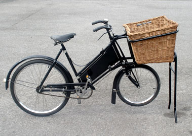 Lot 3-Pashley Small Wheel Trade Cycle