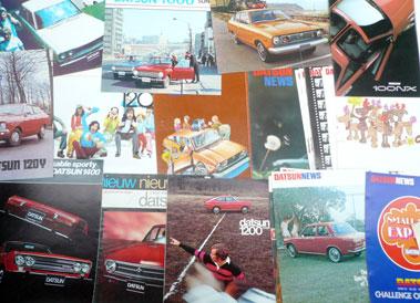 Lot 108-Quantity of Nissan/Datsun Sales Brochures