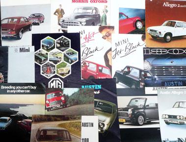 Lot 109-Quantity of Austin/Morris/Mini/MG Sales Brochures