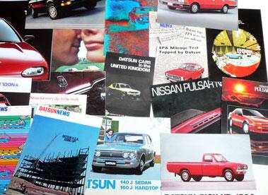 Lot 114-Quantity of Nissan/Datsun Sales Brochures