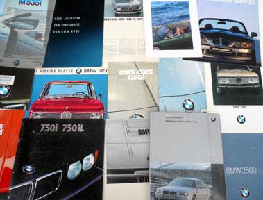 Lot 116-Quantity of BMW Sales Brochures