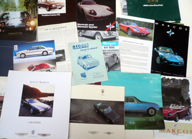 Lot 120-Quantity of Assorted Sales Brochures
