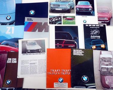 Lot 126-Quantity of BMW Sales Brochures