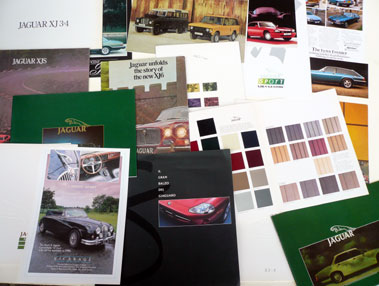Lot 128-Quantity of Jaguar & Land-Rover Literature