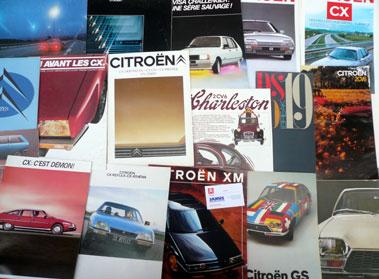 Lot 139-Quantity of Citroen Sales Brochures