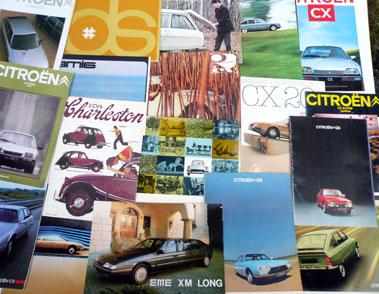 Lot 141-Quantity of Citroen Sales Brochures