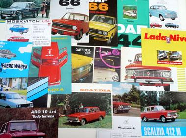 Lot 144-Quantity of Assorted Sales Brochures