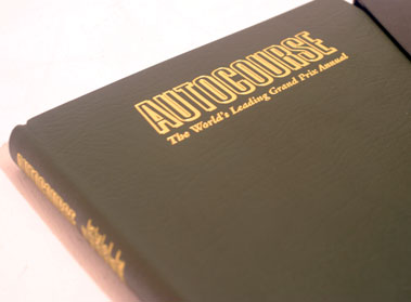 Lot 136-Two Leather-bound Autocourse Annuals