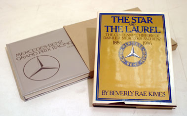 Lot 140-Two Mercedes-Benz Books