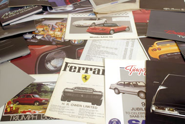 Lot 142-Quantity of Assorted Sales Brochures