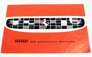 Lot 147-Ferrari 250 GT Berlinetta Sales Brochure