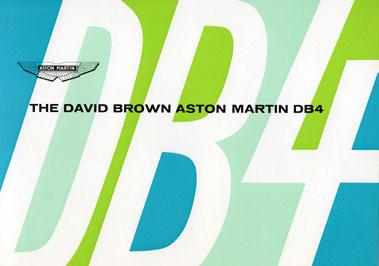 Lot 143-Aston Martin DB4 Sales Brochures