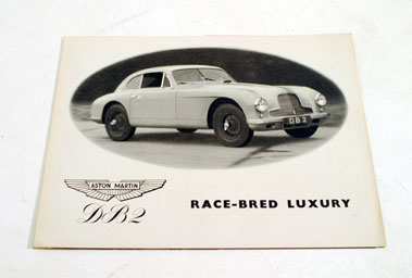 Lot 137-Aston Martin DB2 Sales Brochure