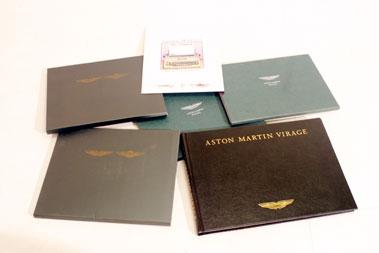 Lot 131-Aston Martin Literature
