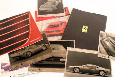 Lot 150-Assorted Ferrari Literature