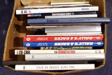 Lot 151-Rallying & Motorsport Books