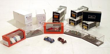 Lot 227-Le Mans & Brooklands Models by Brian Bowden