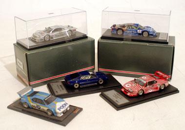 Lot 231-BMW & Mercedes Models